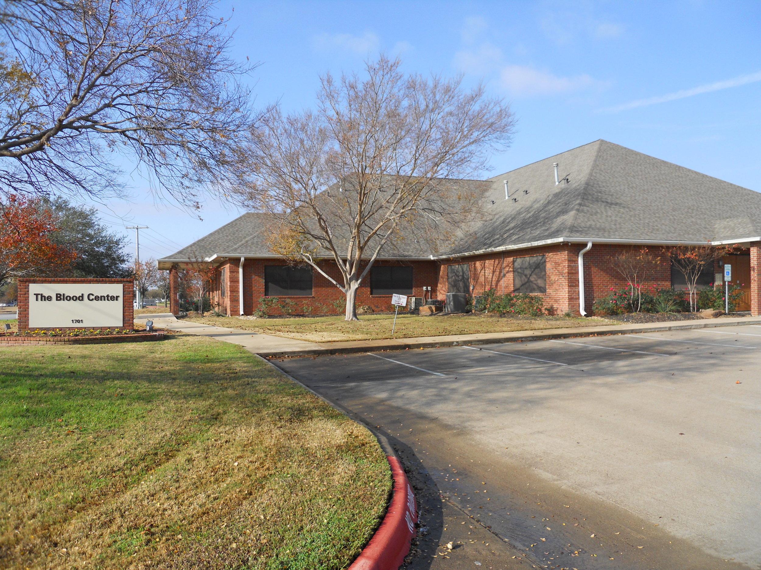 Gulf Coast Blood Center   1701 ROCK PRAIRIE RD. COLLEGE STATION, TX 77845