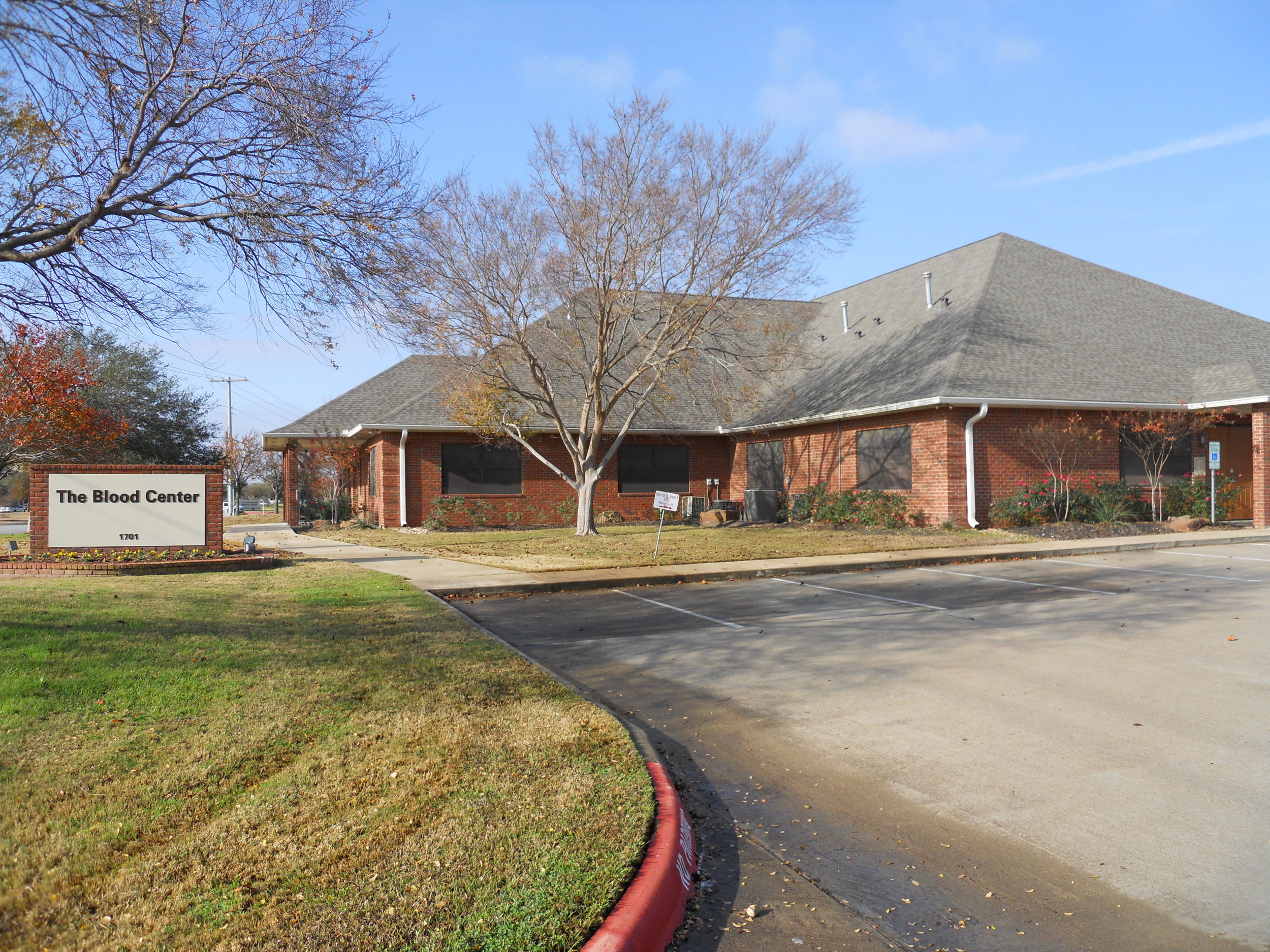 Gulf Coast Regional Blood Center   1701 ROCK PRAIRIE RD. COLLEGE STATION, TX 77845