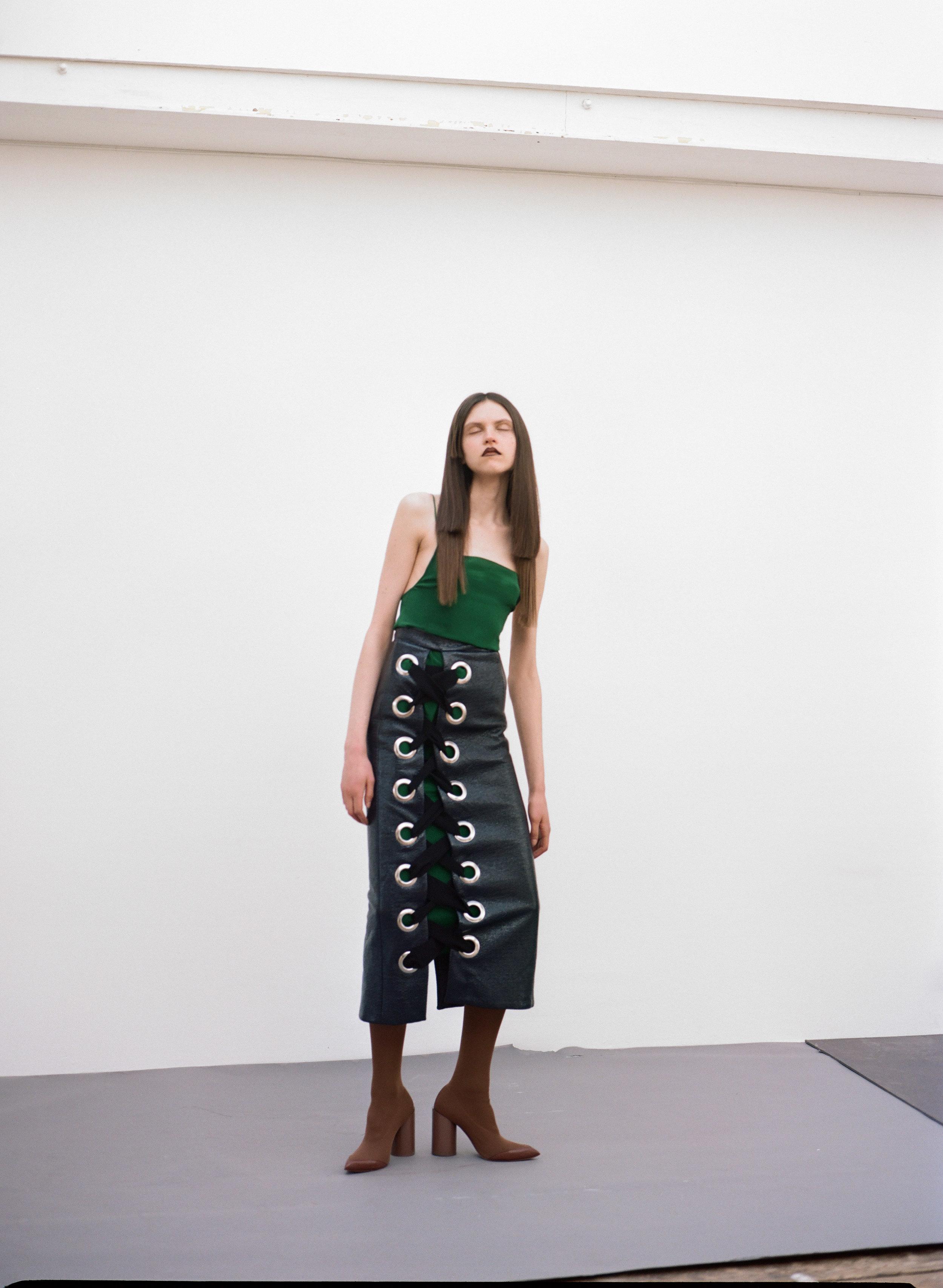Dress  TGCN   Skirt  Teatum Jones   Boots  TOGA Archives
