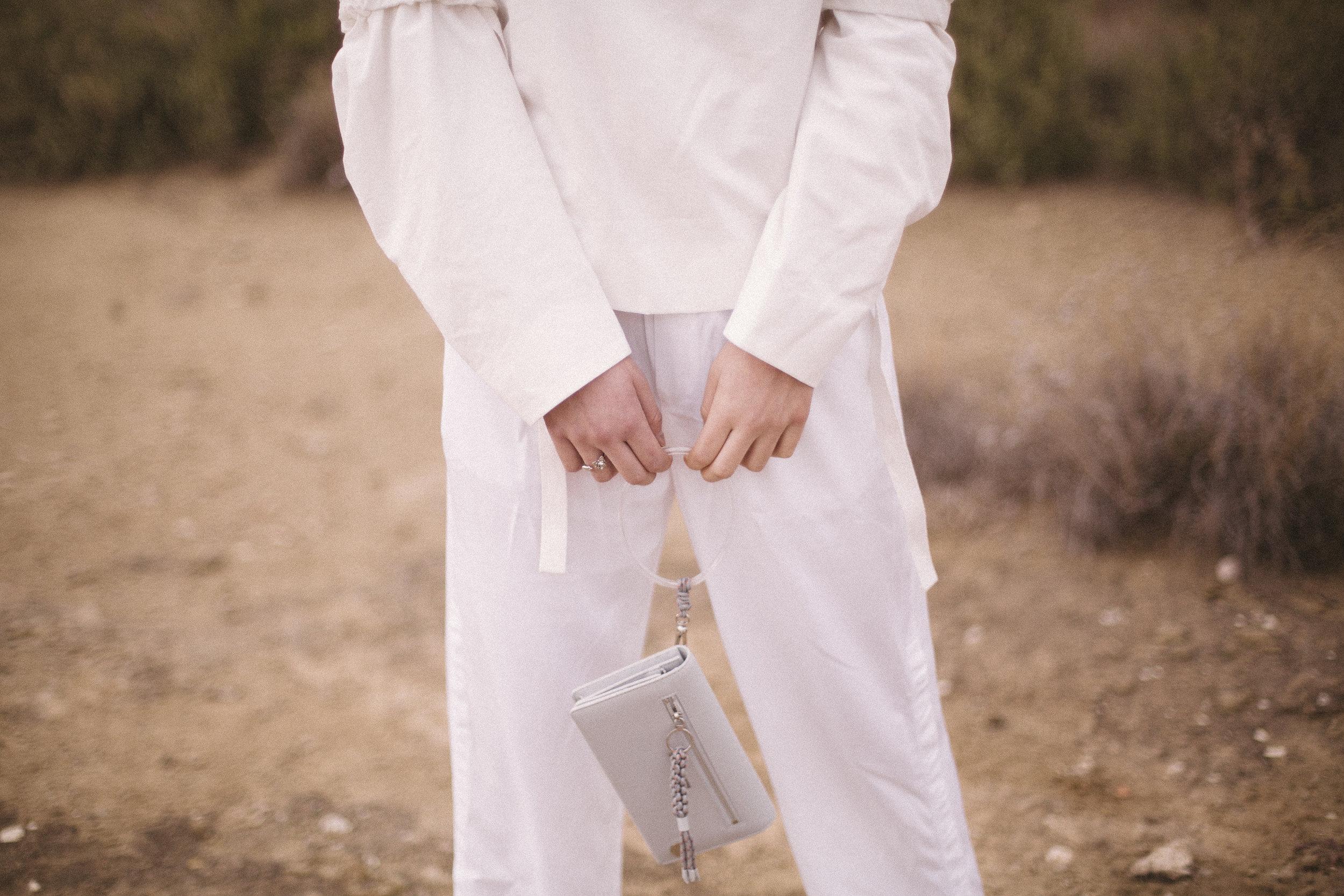 Top  COS  Trousers  FILIPPA K  Bag  C  HARLES AND KEITH