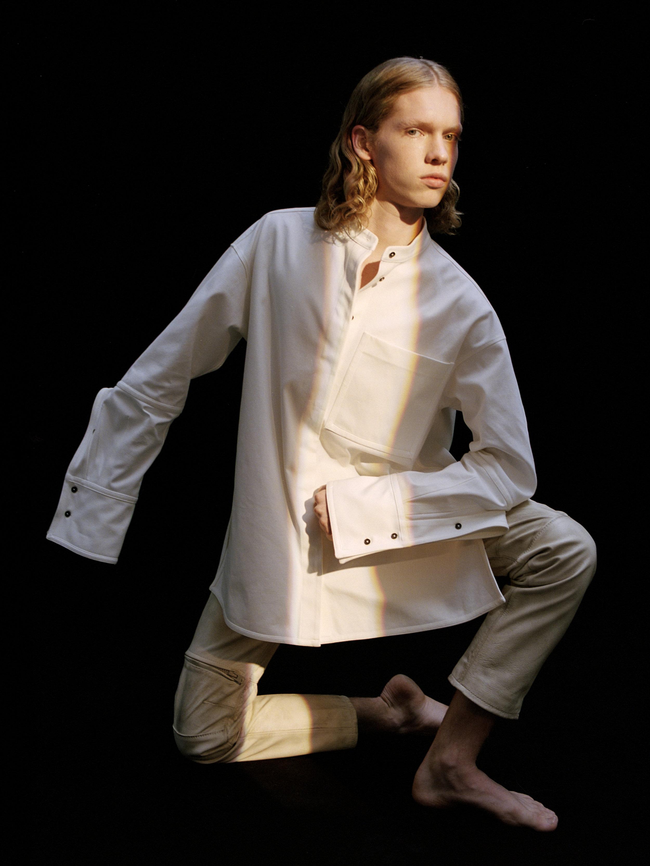 Shirt  JIL SANDER  Trousers  COACH 1941