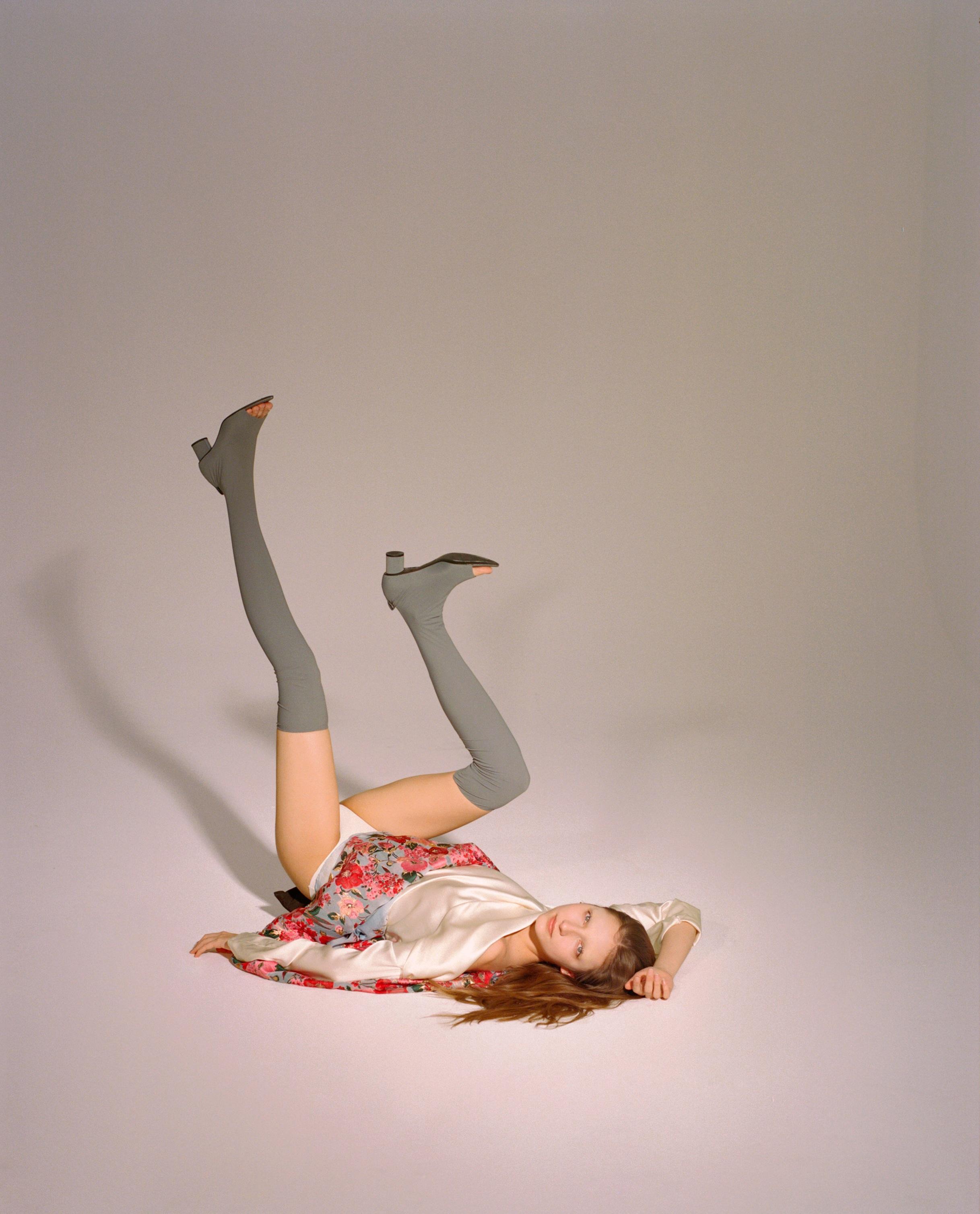 Bodysuit  ALIX  Dress  MUSED  Boots  JIL SANDER