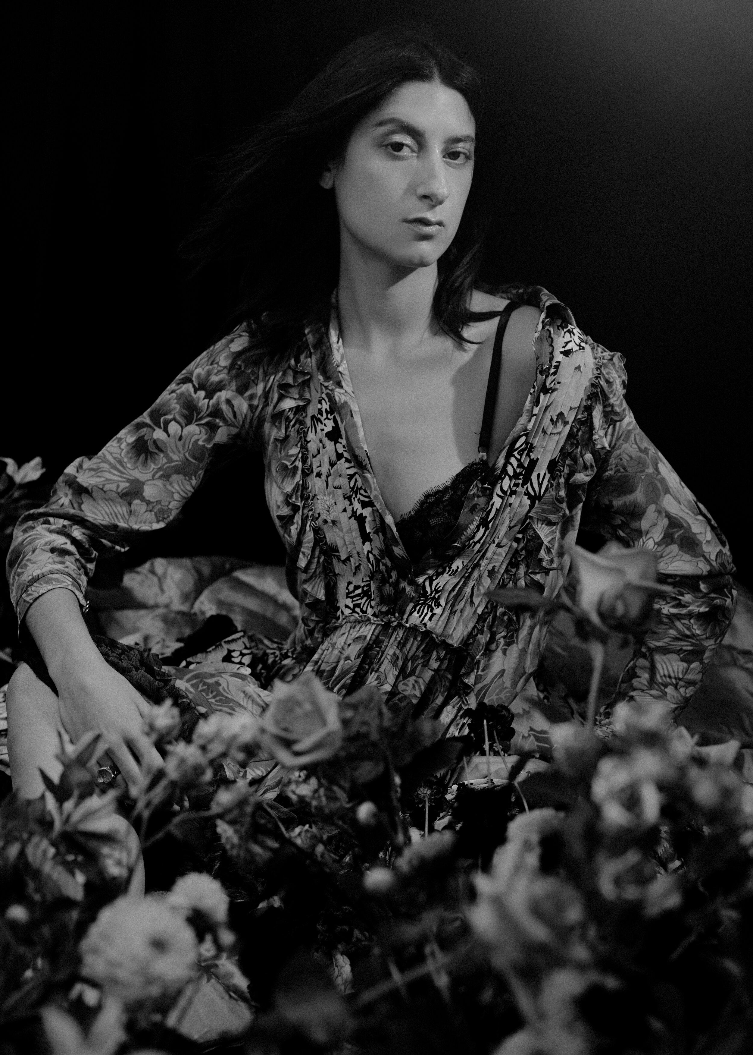 Dress  COACH 1941  Rings  ALICE WAESE  Bra  Stylist's Own