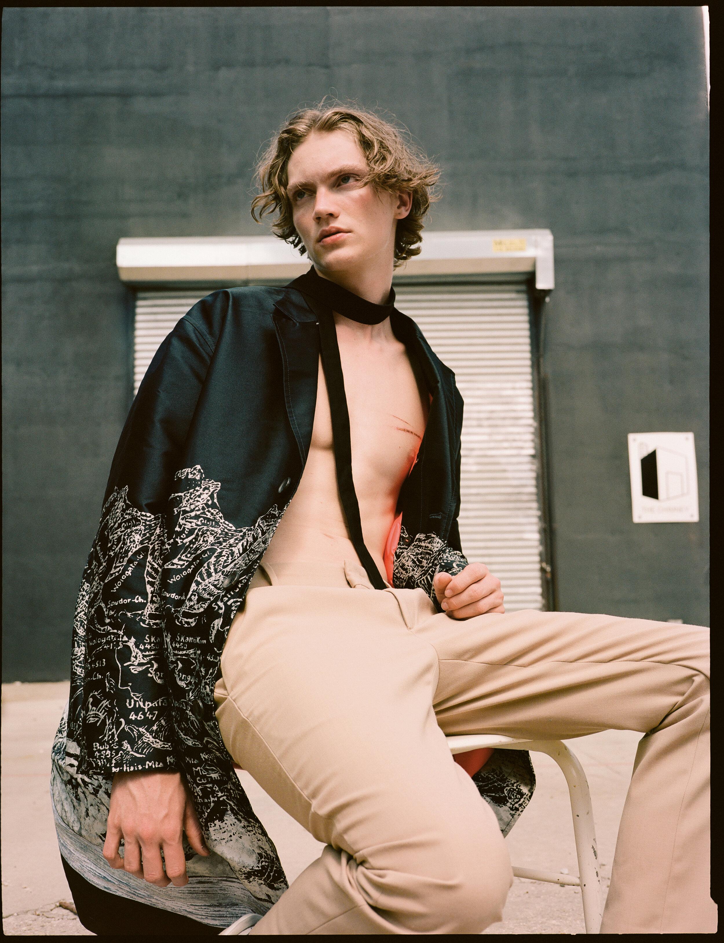 Coat  BALLY  Trousers  FENDI