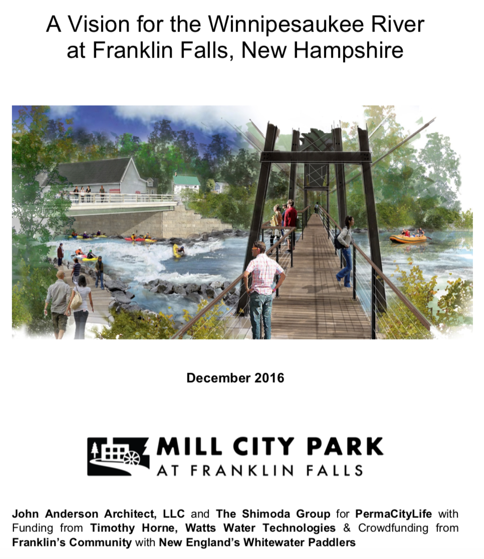 A Vision for the Winnipesaukee River at Franklin Falls