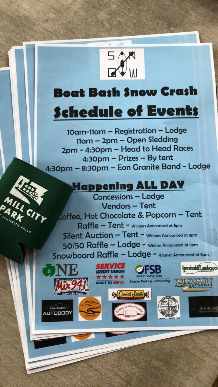BOAT BASH SNOW CRASH 2018