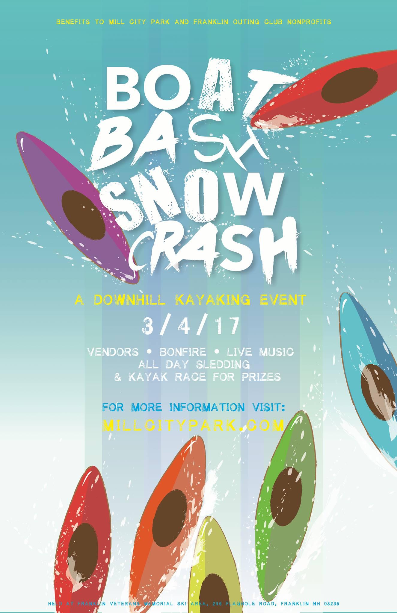BOAT BASH SNOW CRASH 2017