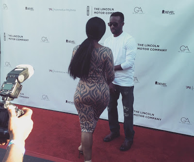 Red carpet for Lincoln & Automotive Rhythms.