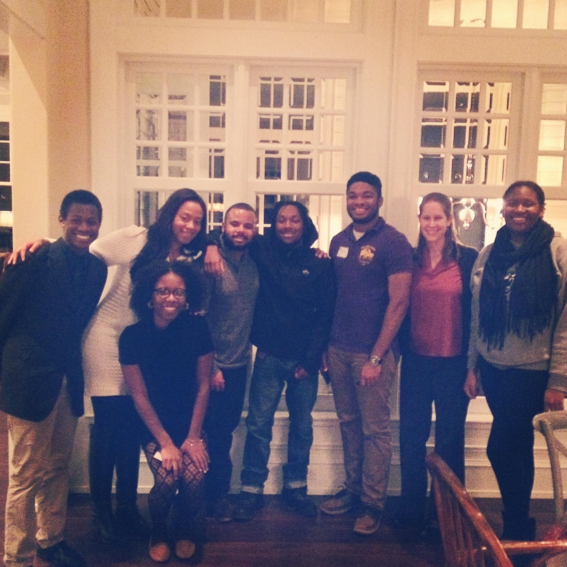 When graduates from SEED DC and SEED MD enroll in the same college, they benefit from a shared SEED community...and visits from their college advisors.