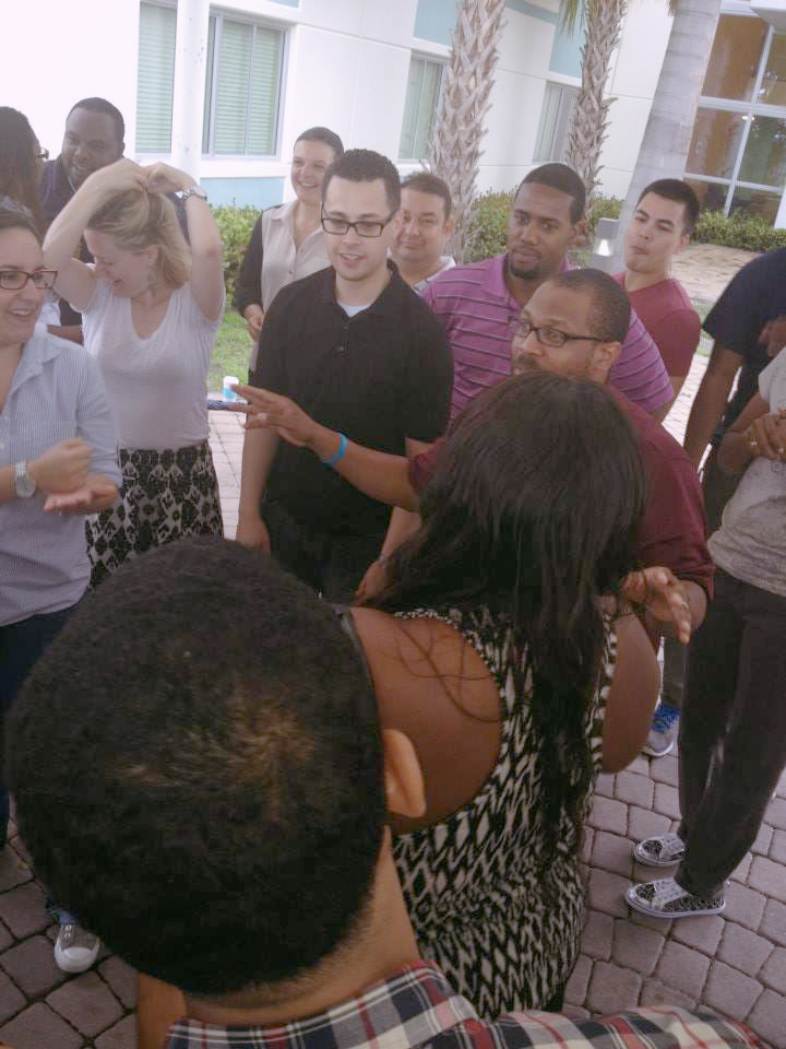 When The SEED School of Miami opened in 2014, former Director of Student Life, Jon Tucker, traveled to Miami to train new staff on SEED's approach to positive youth development.