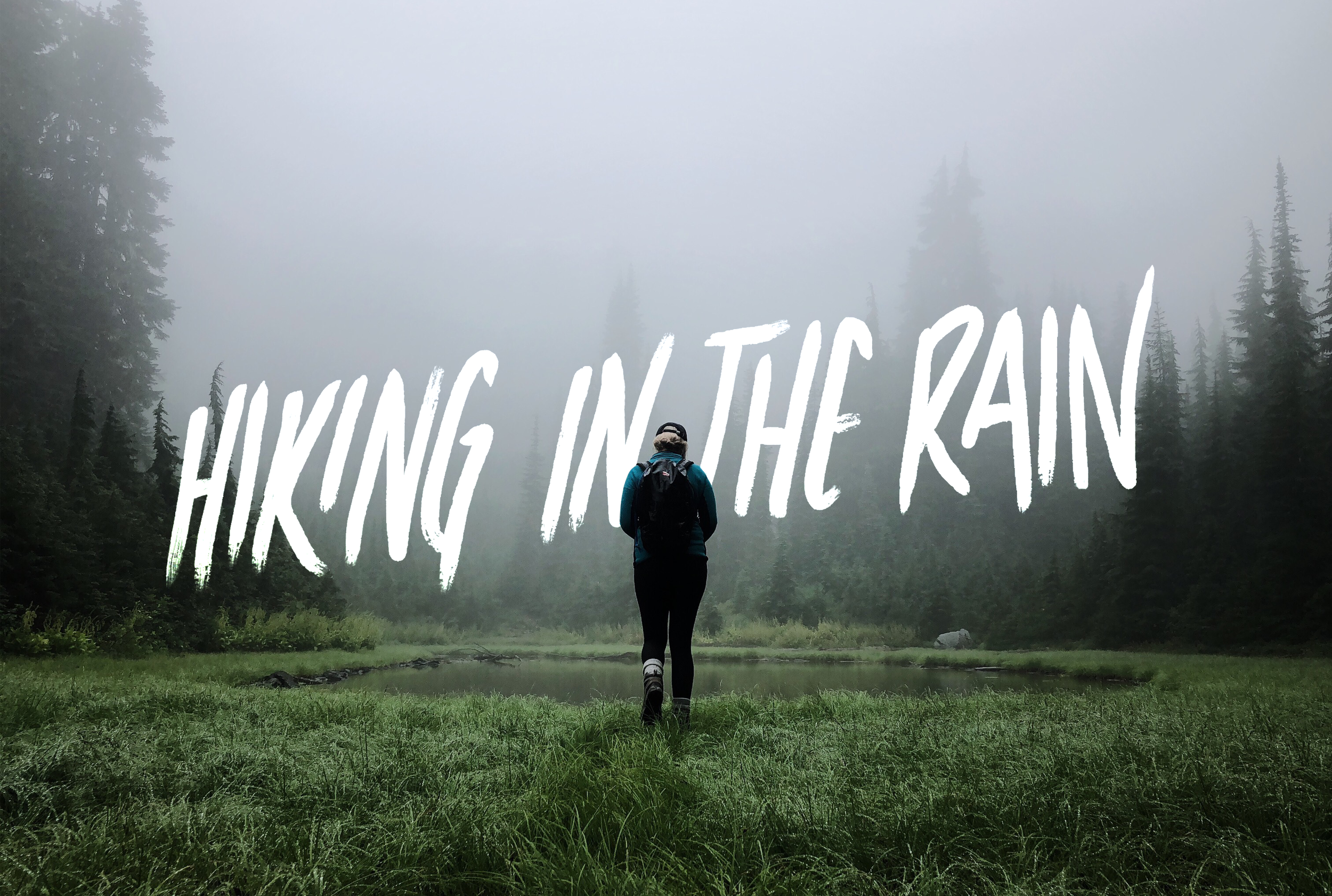 The whys & hows to get outside no matter the weather. -