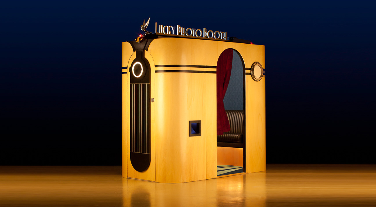 Lucky Photo Booth | Los Angeles Photo Booth Rental