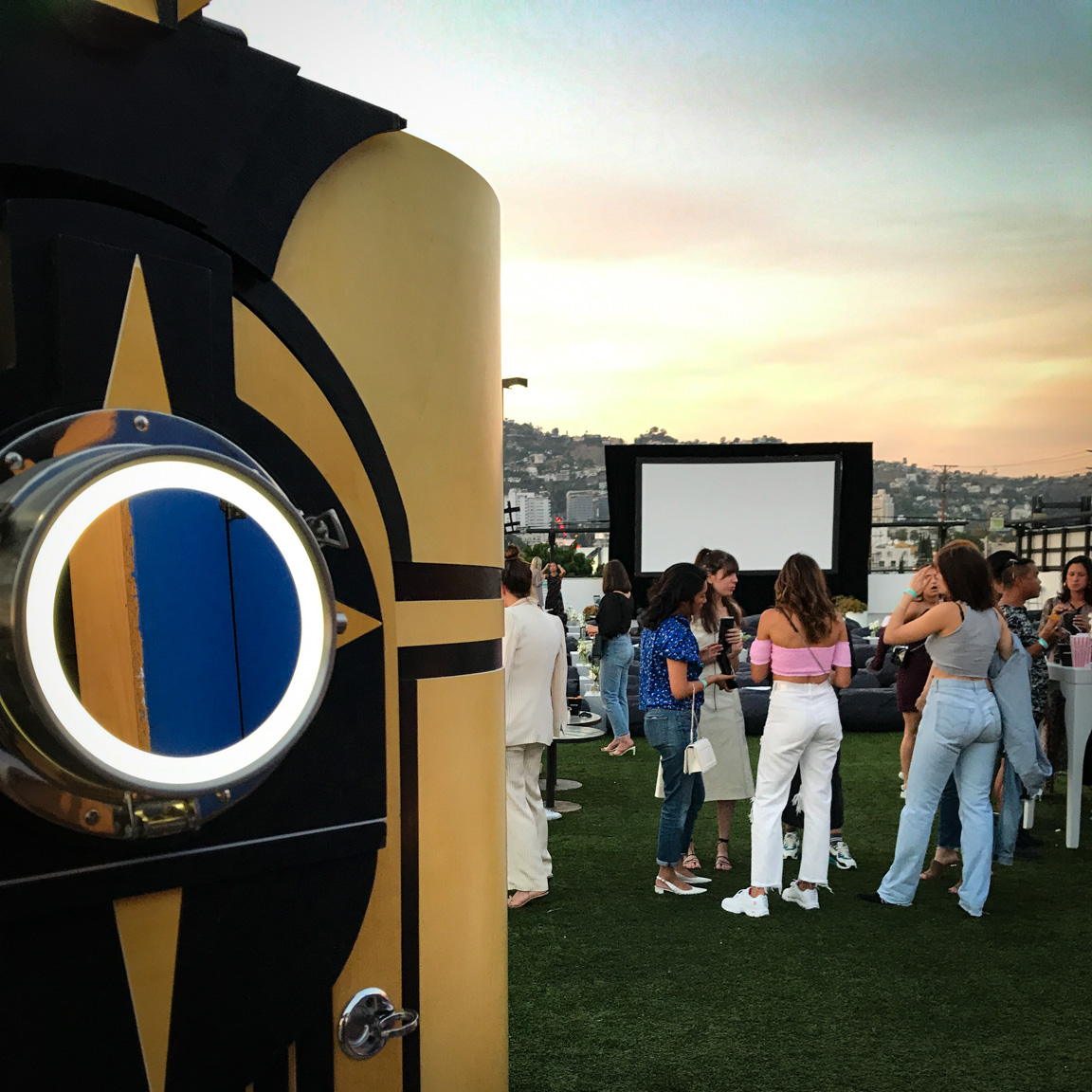 Thanks to the team at ShopBop for having Lucky Photo Booth be a part of their rooftop event!