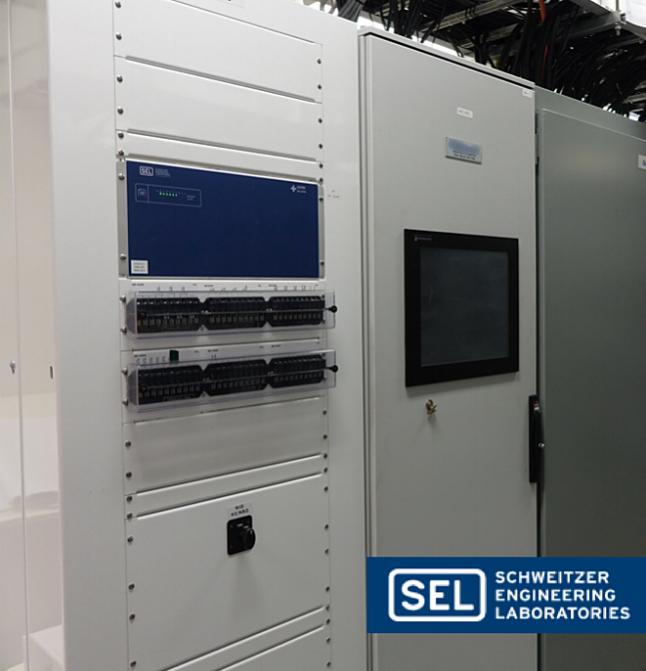 Controls built by Schweitzer Engineering Laboratories ( SEL )