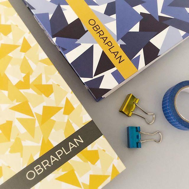💛 Os ObraPlans da coleção Triângulos também estão com 35% de desconto no site! 💙 Ah, estamos nas ÚLTIMAS UNIDADES do amarelo!! O ObraPlan é o parceiro perfeito do ArqPlanner, auxiliando no acompanhamento de obras! Se a gente fosse você, aproveitava! 🤗 #AmoArqPlanner