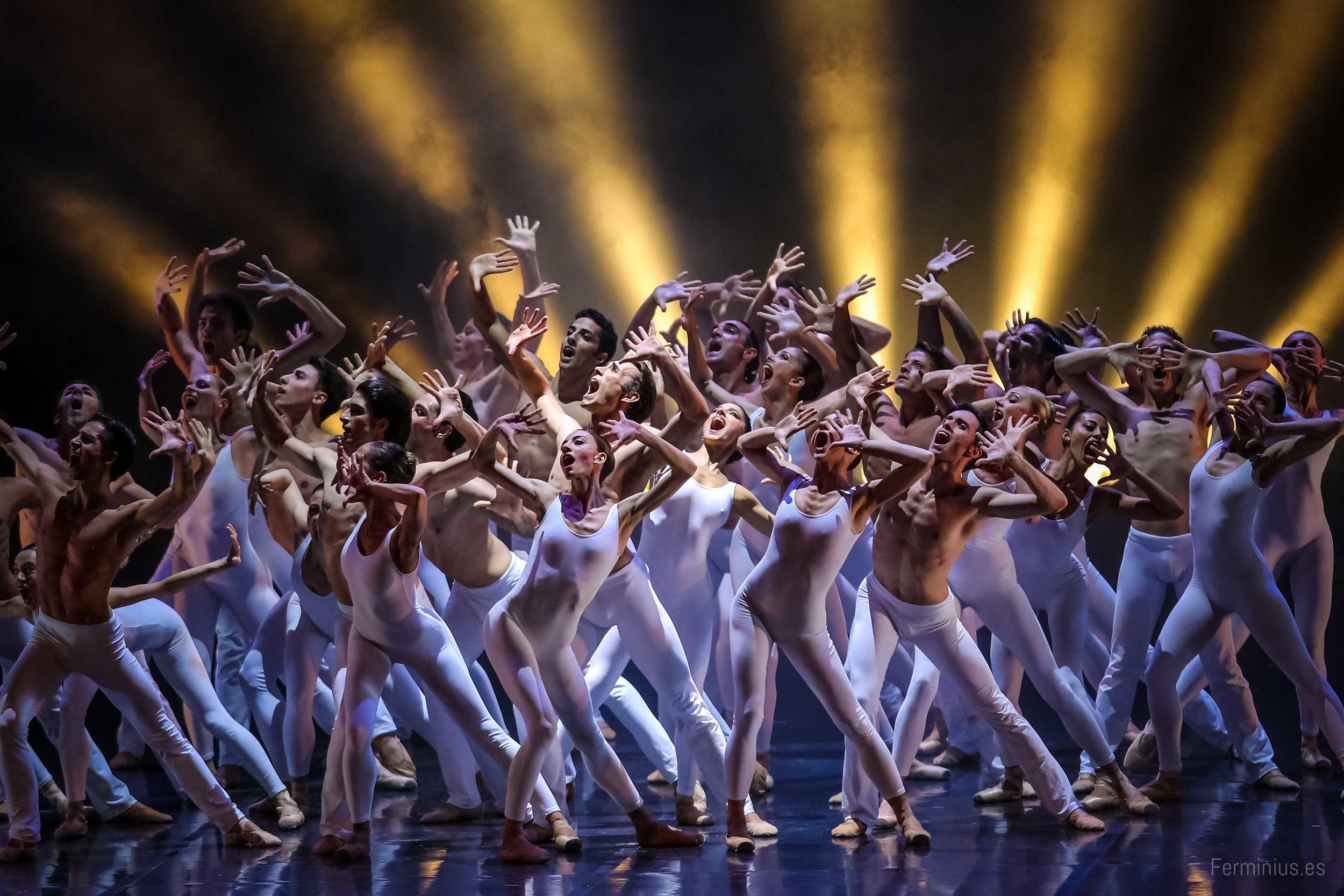 27/6/17 - El Ballet del Teatro di San Carlo de Nápoles. Pink Floyd Ballet en el Teatro del Generalife. Festival Internacional de Música y Danza de Granada