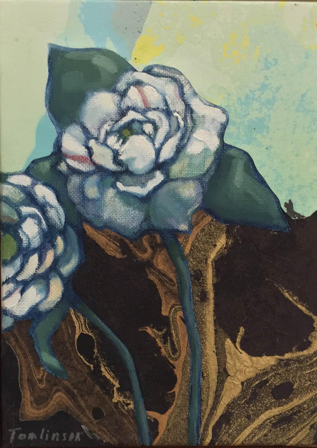 """Camellias #3 – 8"""" x 10"""""""
