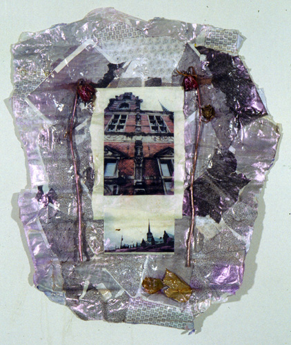 """""""Another Place"""" cast paper, digital photo collage, approx. 34'x22"""", $500"""