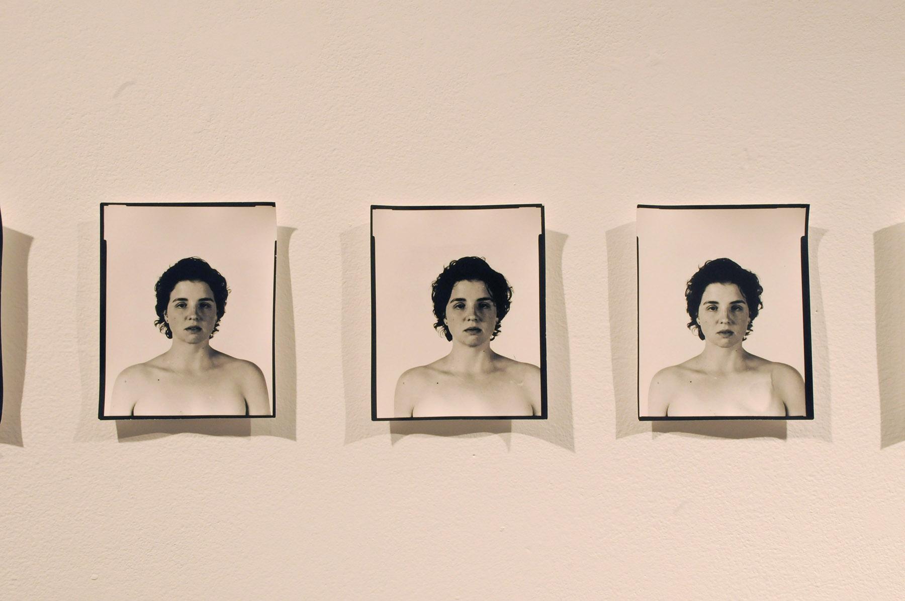 """""""Her"""", Piece One. 2012. Silver Gelatin Photographs. 12' x 11 ½ '"""