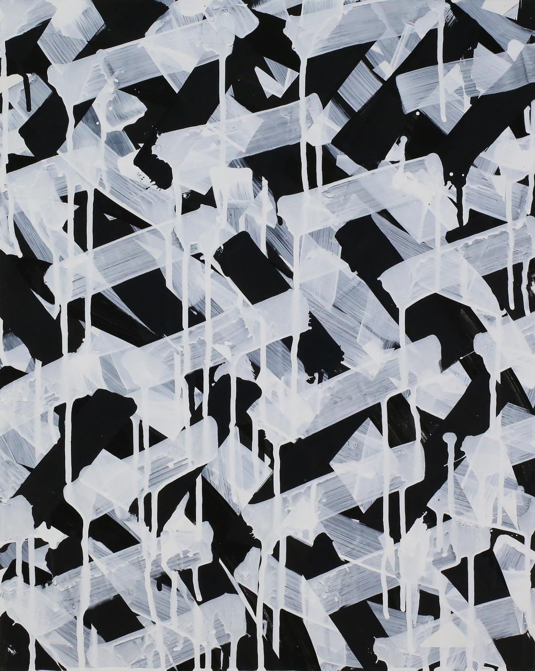 "Fecund, Acrylic on Panel, 20""x16"", 2018, $900"