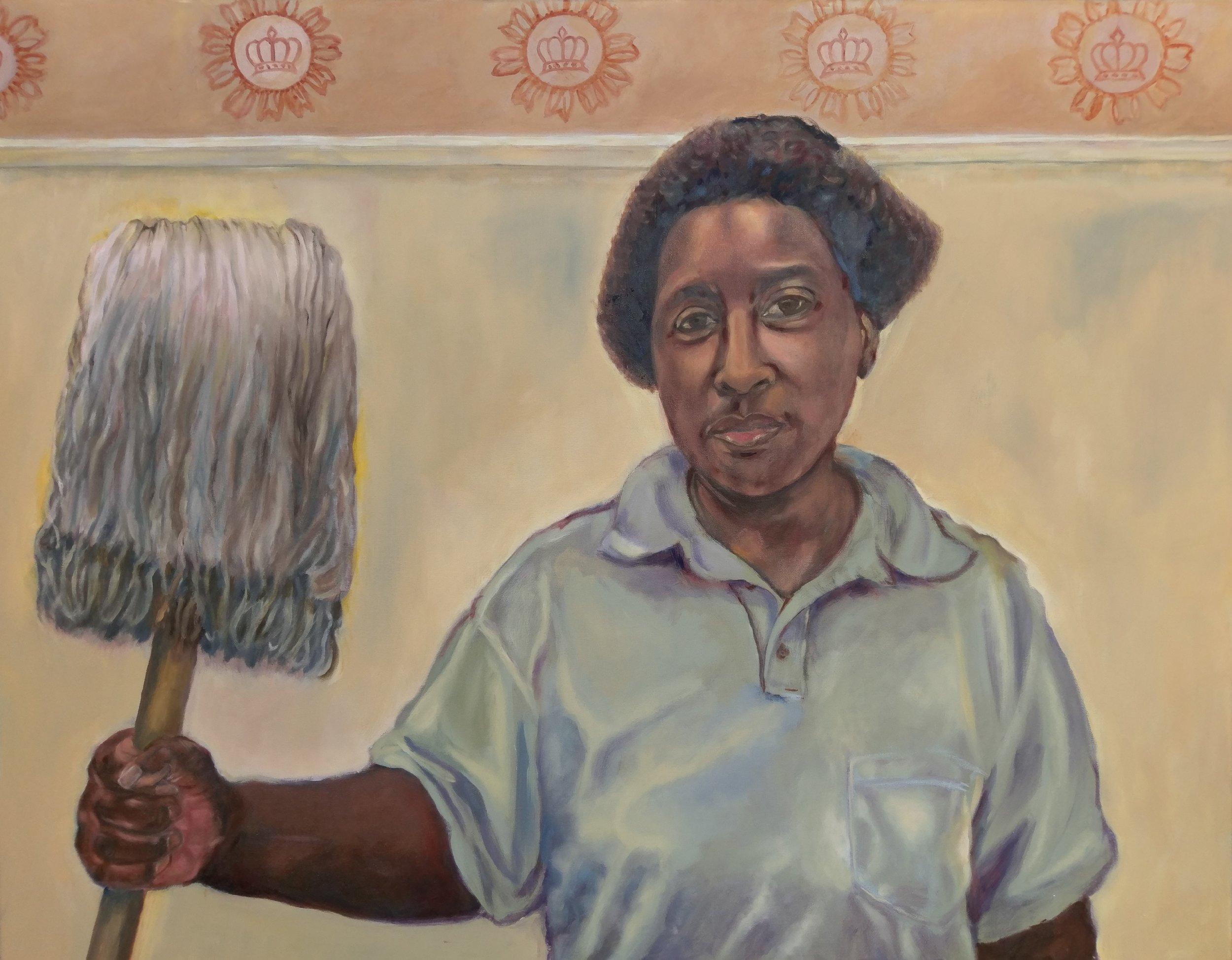 """Jo"",  Oil on canvas, 36"" x 48"", $4,800"