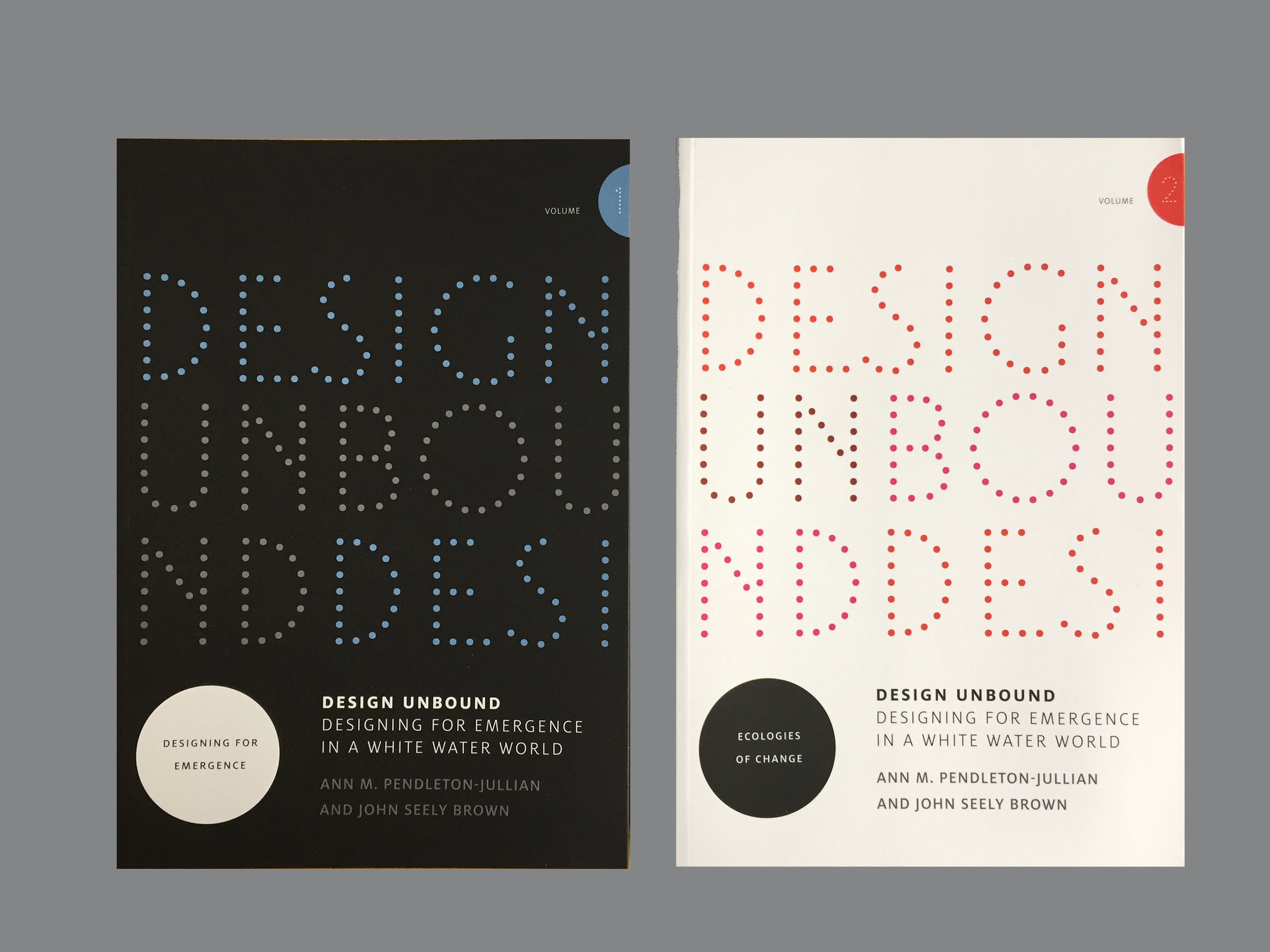 MIT Press / Design Unbound, Vol. 1 and 2