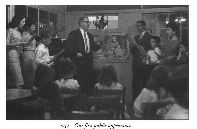 The First Public Appearance 1959