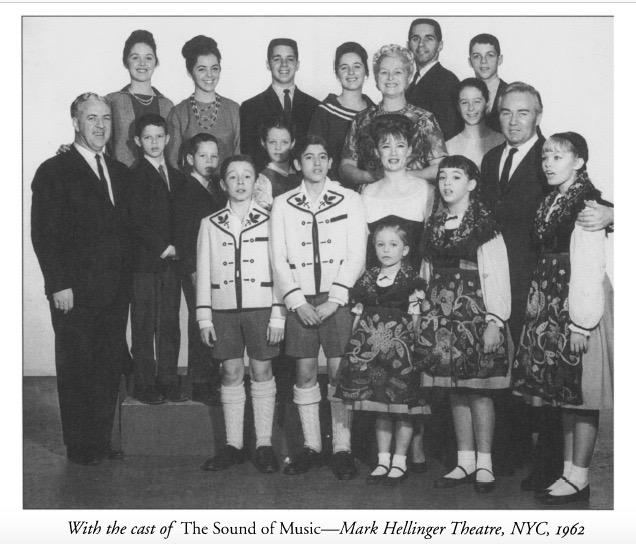 With Cast of Sound of Music -Mark Hellinger Theater 1962
