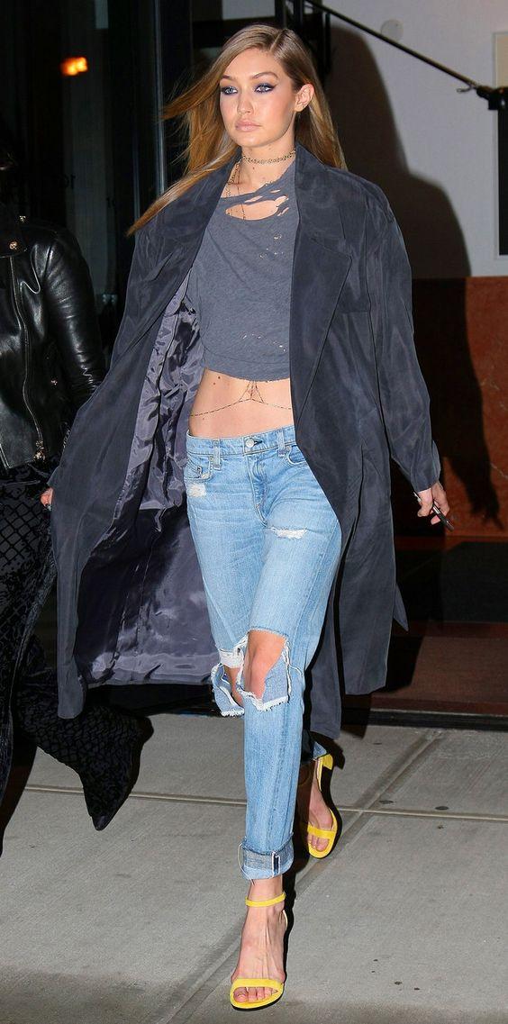 Gigi Hadid - girls night out