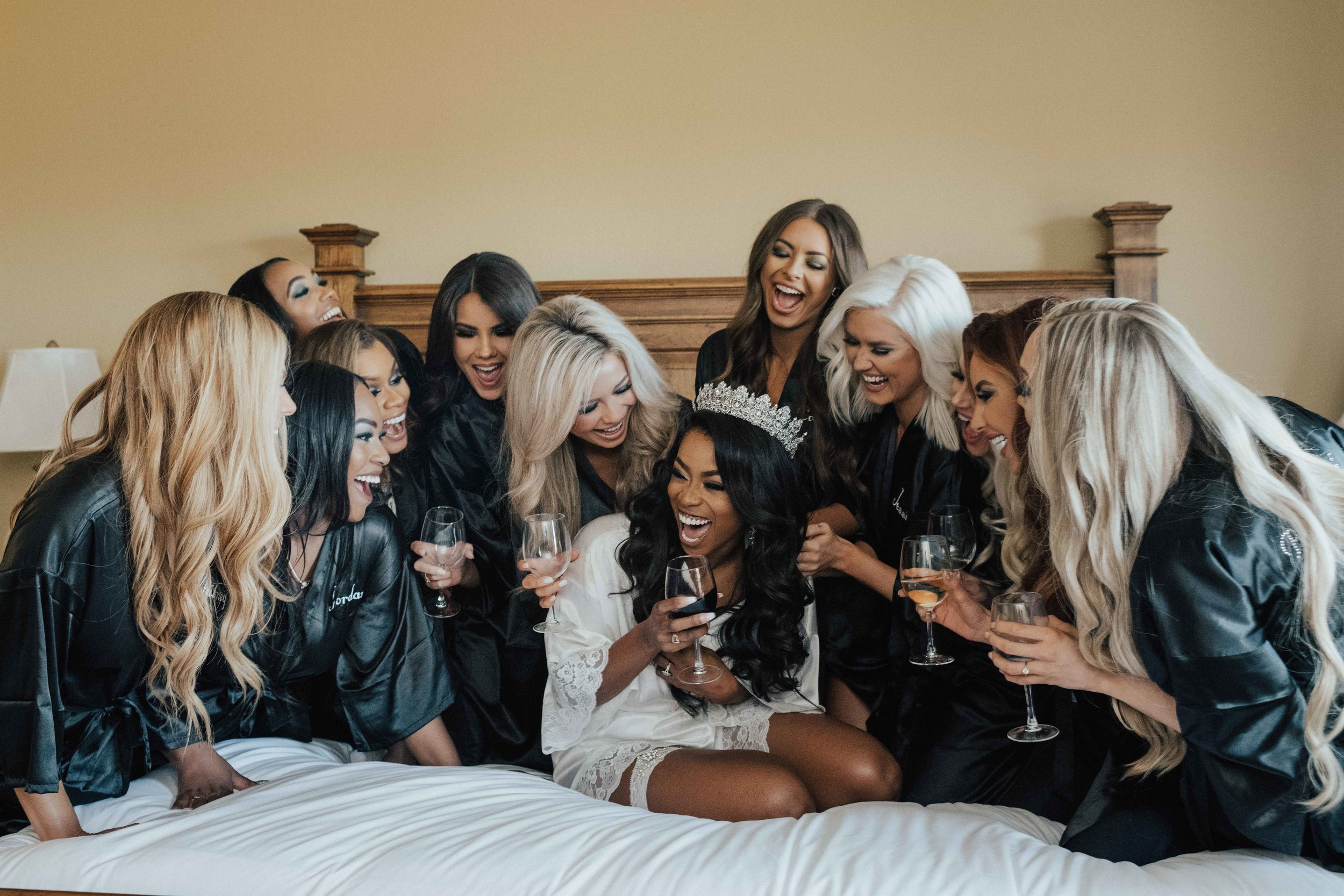 My bridesmaids: Whitney Dillon Matron of honor, Jordan Dodson, Evony Thompson, Ashley Parker,Jocelyn Watts, Kristen Stiles, Laura Little, Courtney Little, Jessi Boseman, Morgan Abel, Tiffany Harwell, Amanda Mertz