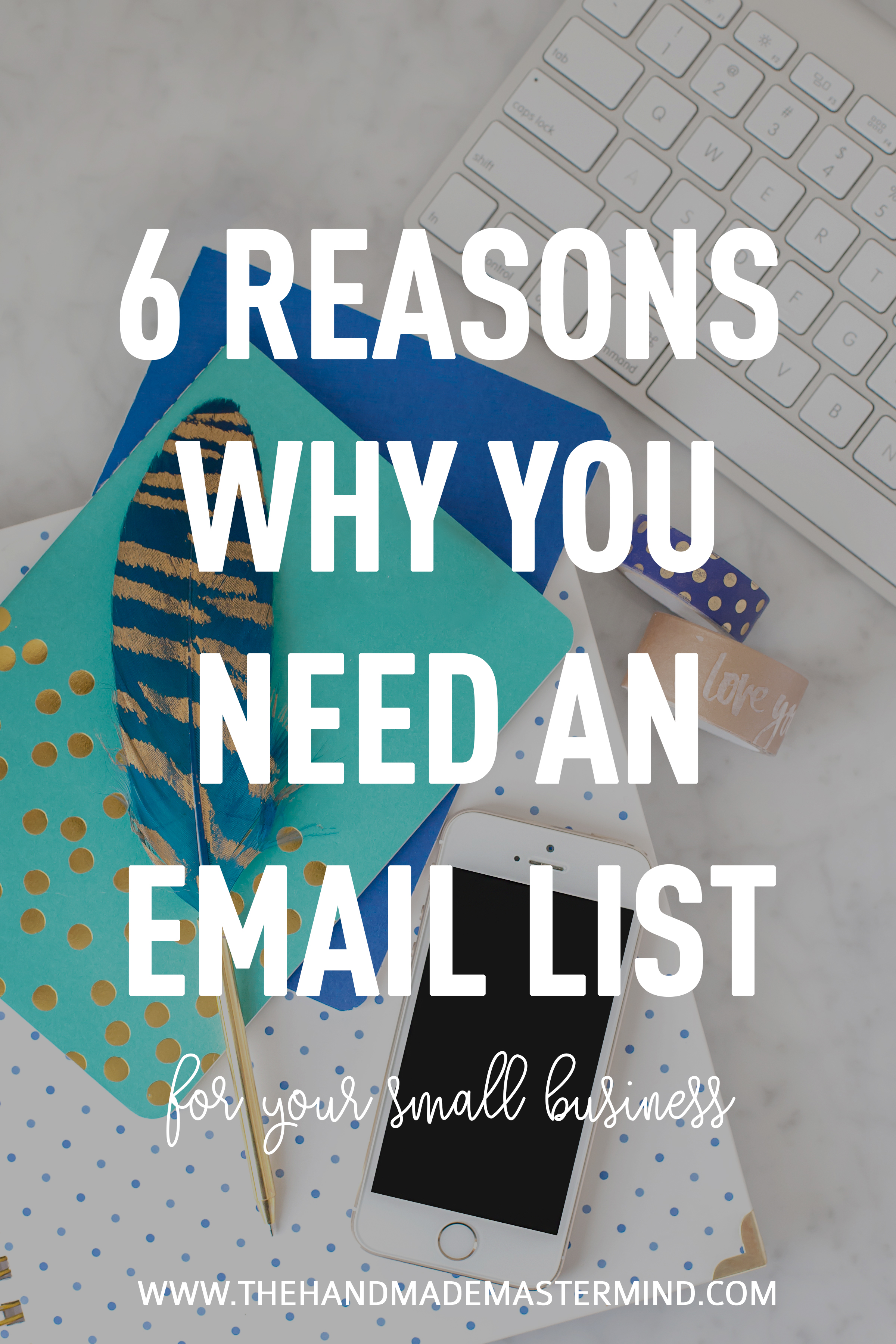 Start and email list