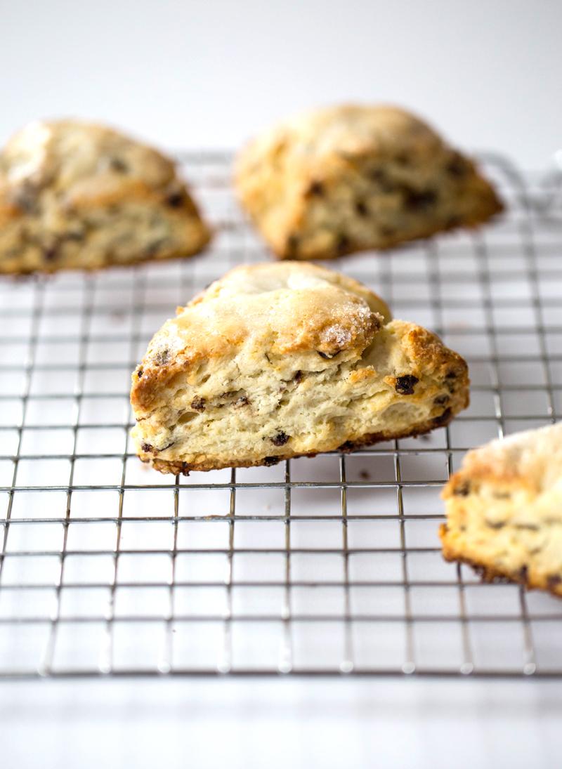 rosemary currant scones