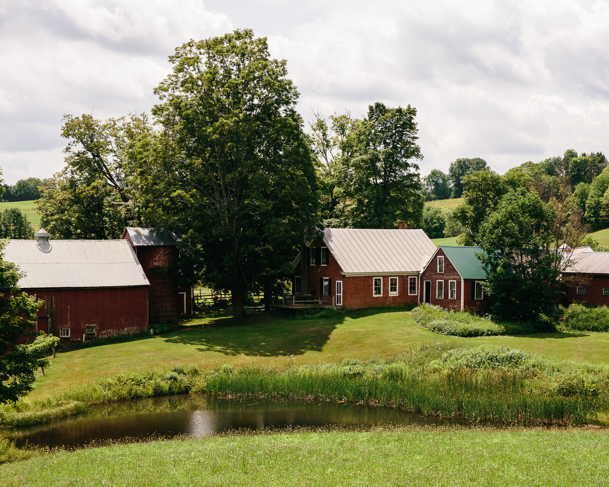 The most photographed farm in America, Jenne Farm in Woodstock, VT.