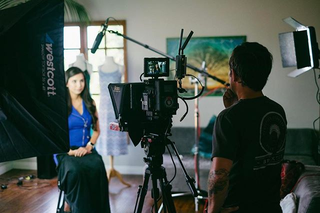 On set with @theundress #motvfilms #reddigitalcinema #ikan #vaxis #westcottlighting