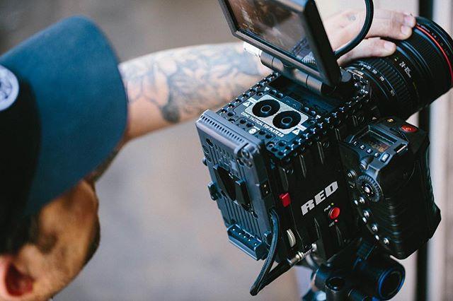 Gettin the shot.  #motvfilms #reddigitalcinema #canon #production