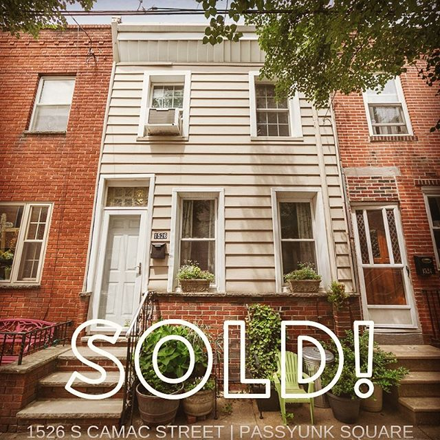 Just sold in Passyunk Square! 🏡😍