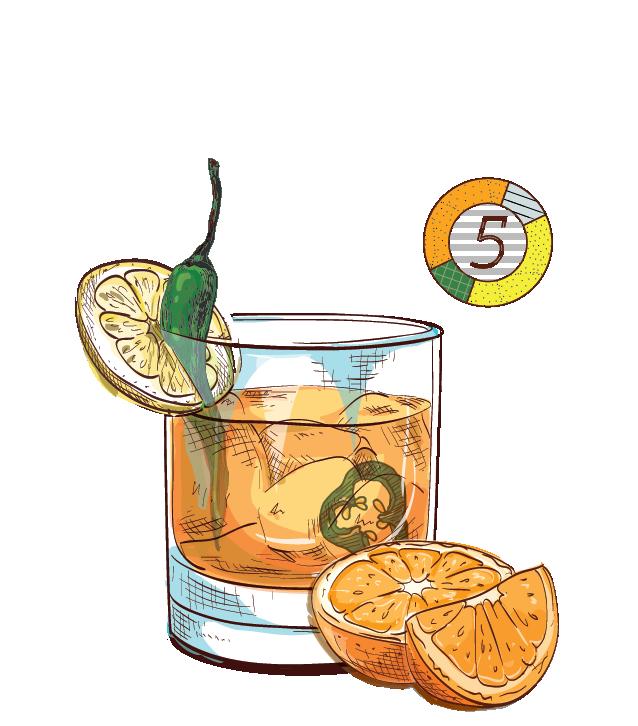 Vela - Espirito XVI Cachaca orange lemon jalapeno cocktail.jpg
