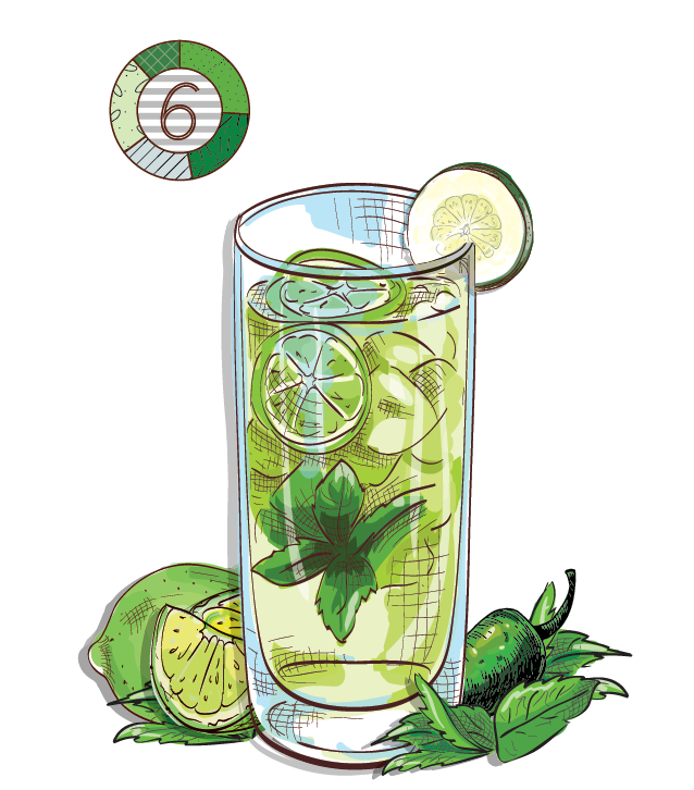 So Fresh and So Green - Espirito XVI Cachaca cucumber lime basil jalapeno cocktail