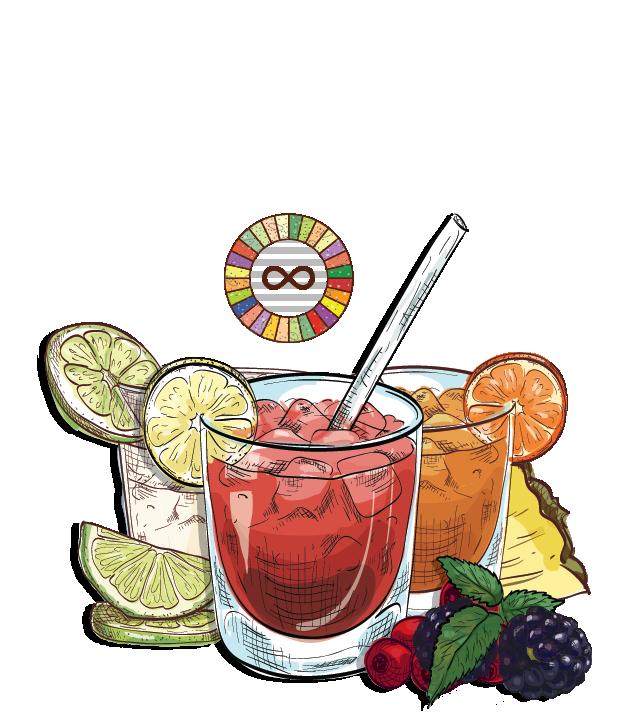 Caipifruta - Espirito XVI Cachaca mason jar caipirinha grapefruit orange lime blackberry rosemary cocktail