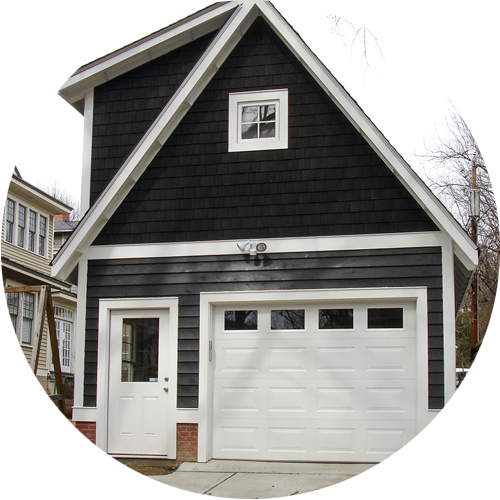 exteriors  Barns, sheds, and garages Piers, docks, porches, and decks