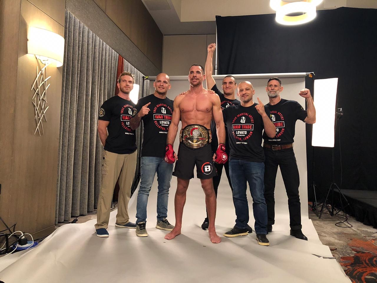 BELLATOR MIDDLEWEIGHT WORLD CHAMPION RAFAEL LOVATO Jr.