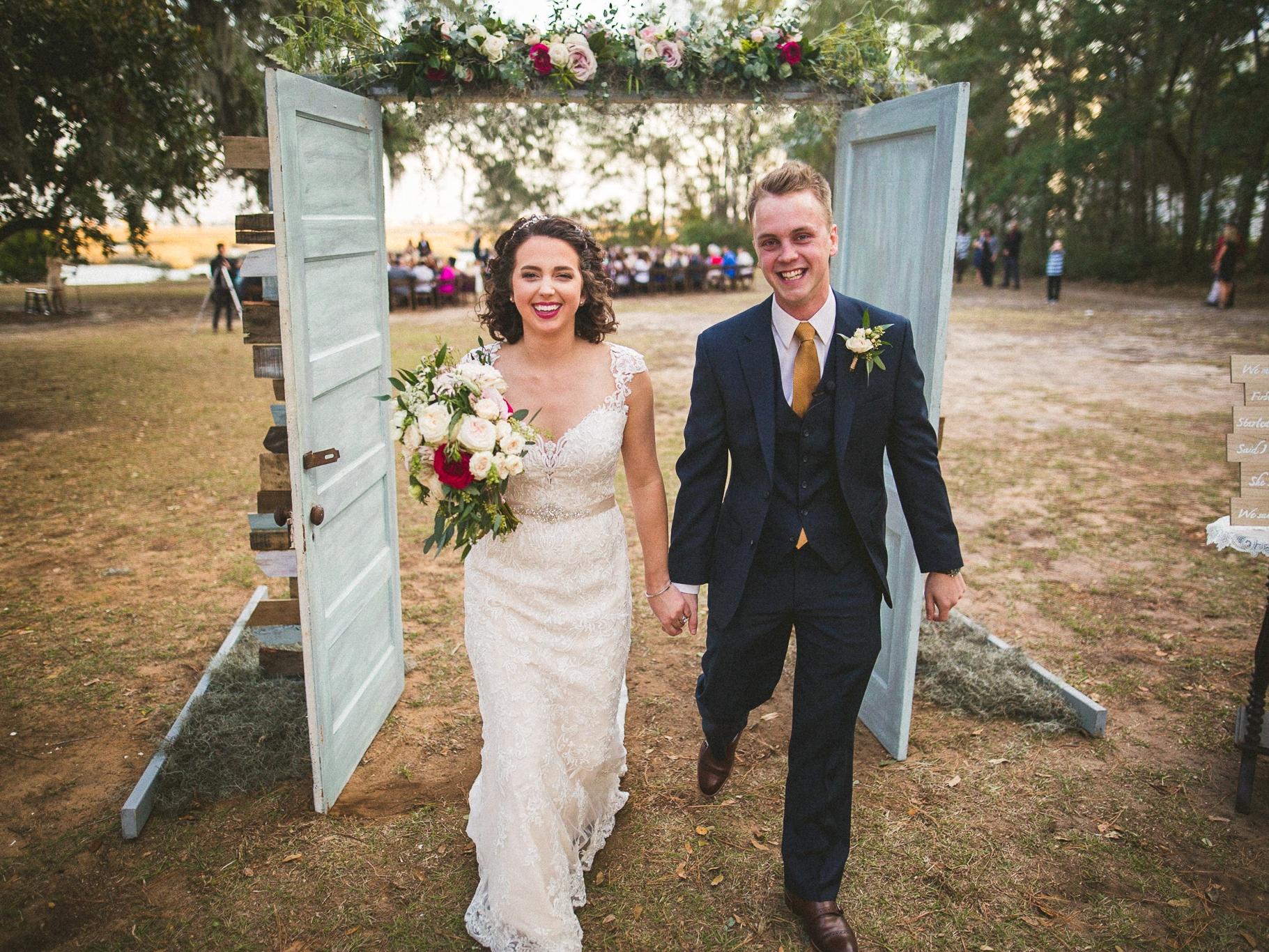 Elizabeth & Nate // Sunnyside Plantation Wedding - Murrells Inlet, SC 11.18.2016