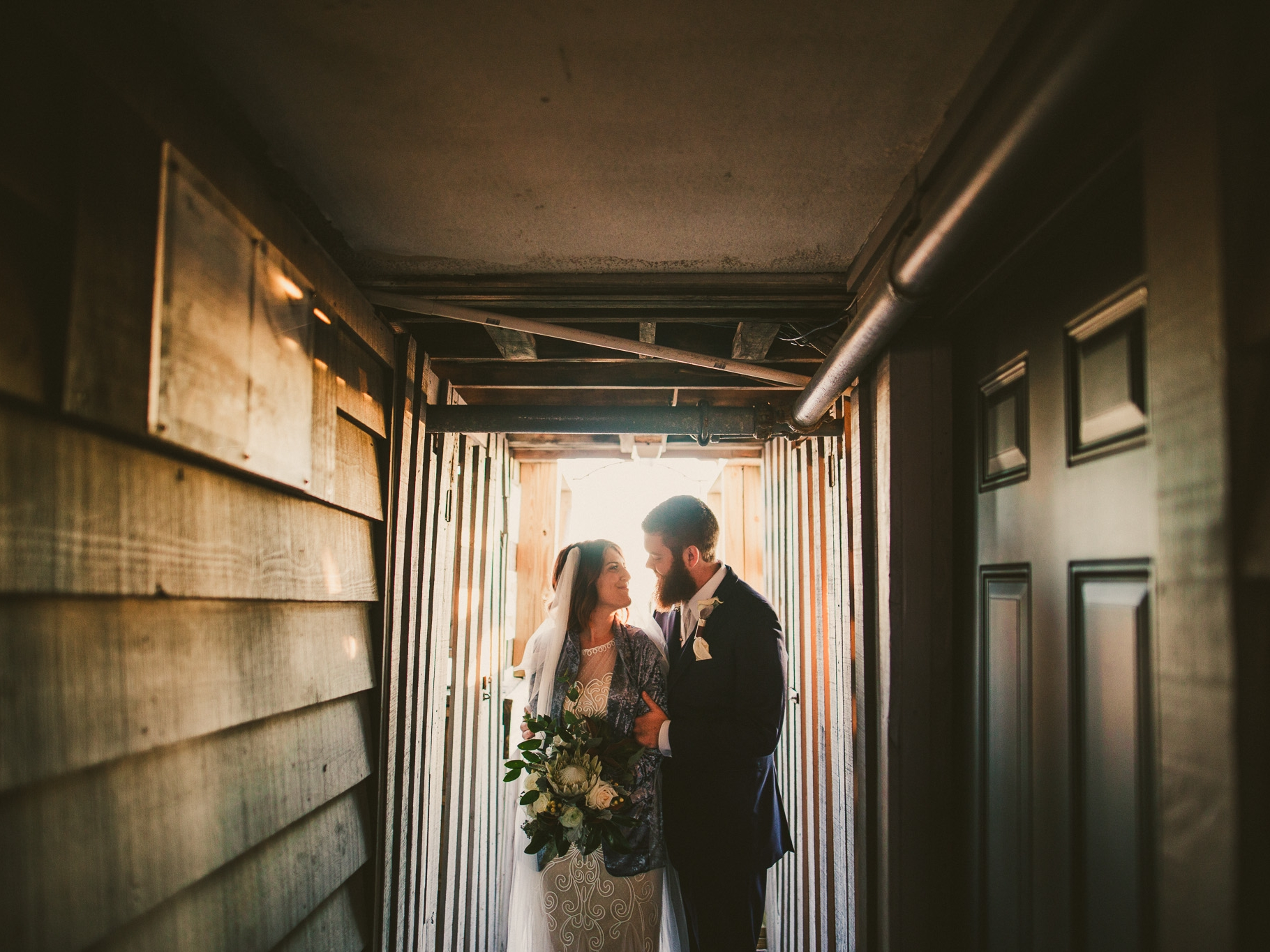 Alyssa & Robbie // Wedding - Garden City Chapel, Garden City, SC 01.14.2018