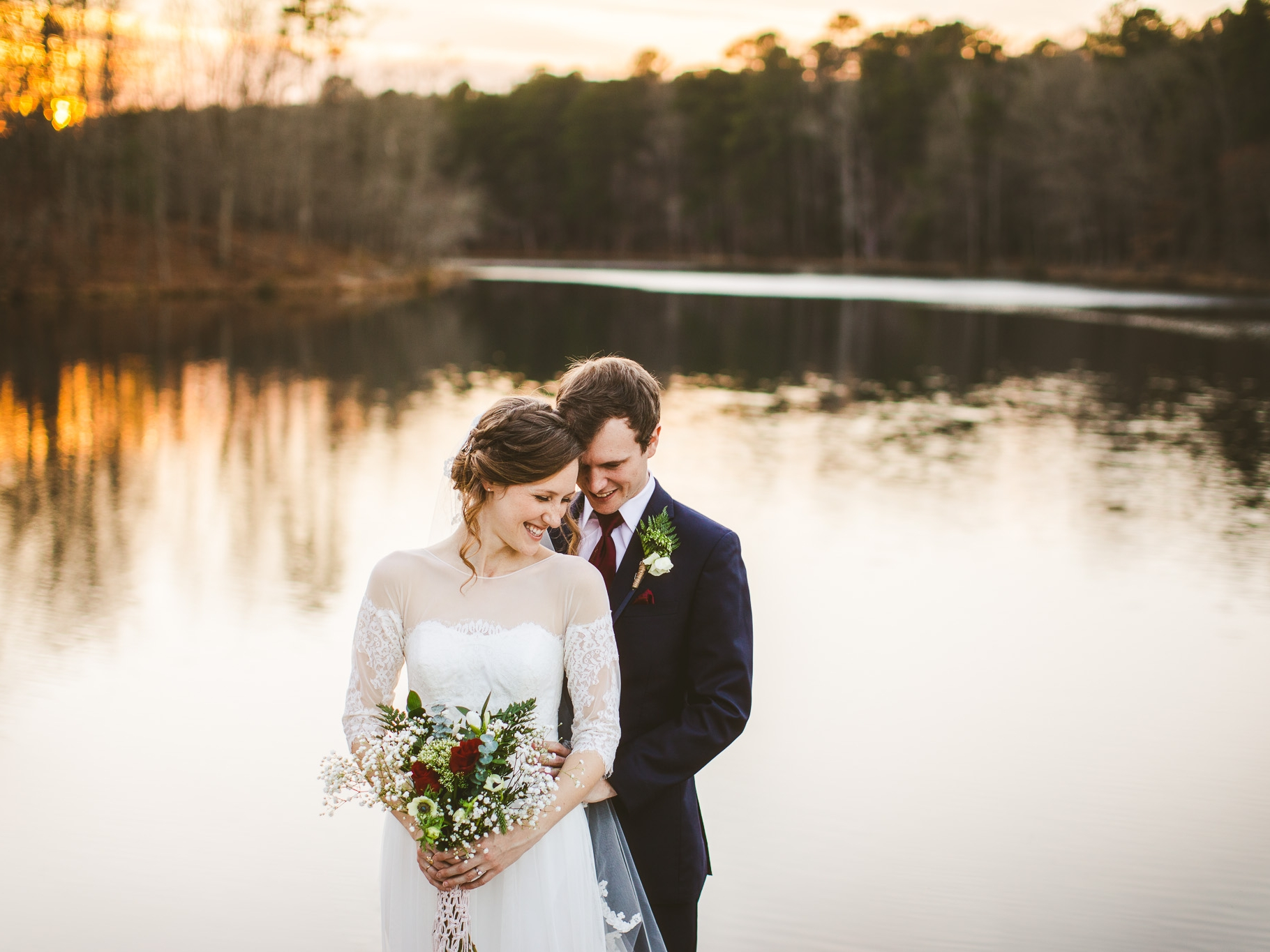 Claire & Jeff // Wedding - Durant Nature Preserve, Raleigh, NC 03.12.2018