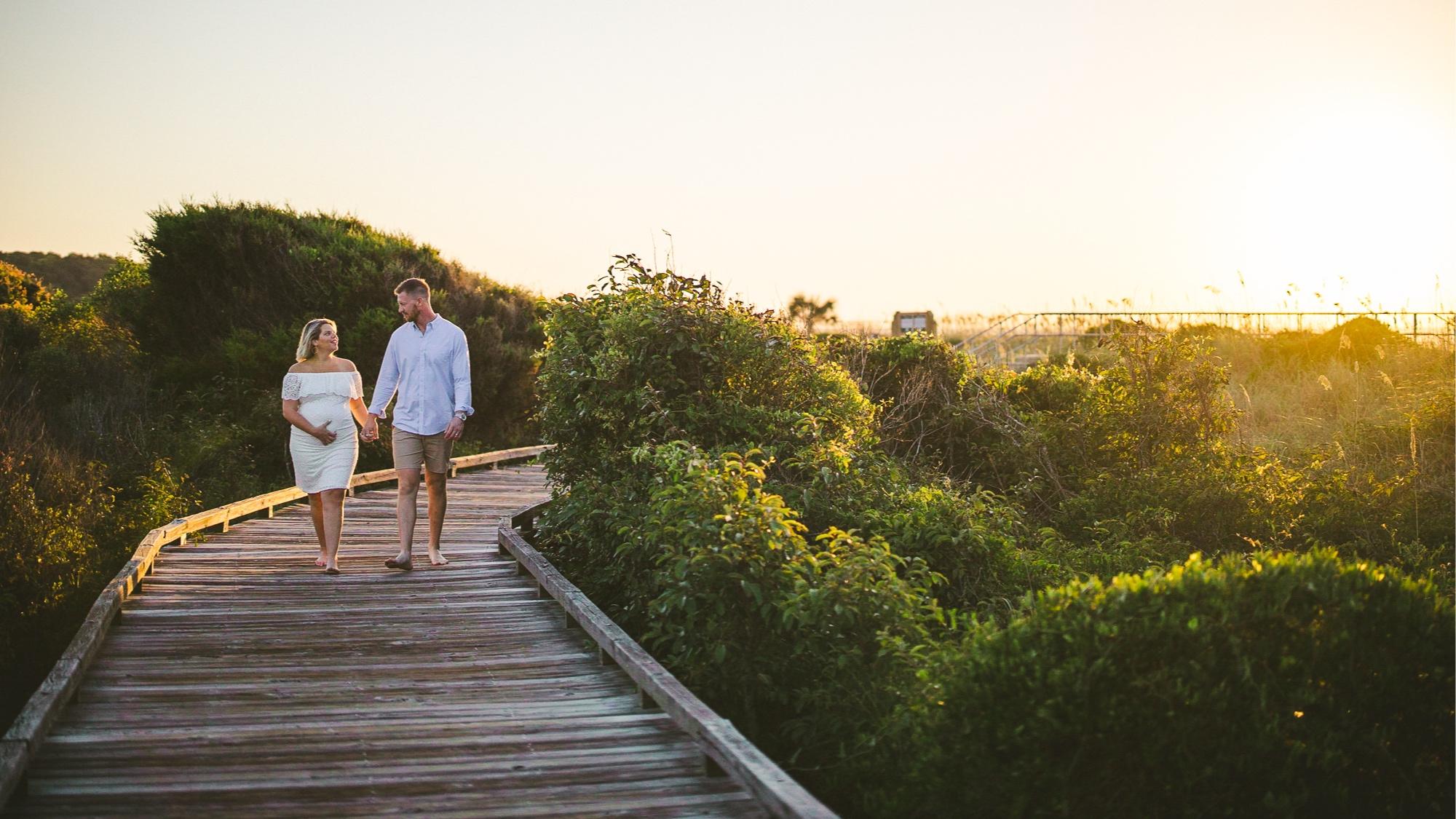 Alyssa & Kelly Maternity Shoot - Myrtle Beach State Park, SC