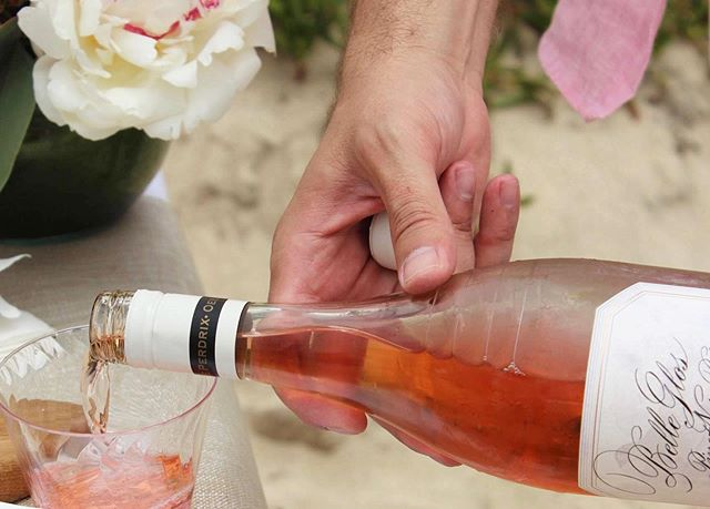 The @bellegloswines Pinot Noir Rosé is fascinatingly fragrant with aromas of strawberries, cherry, and a hint of mint.