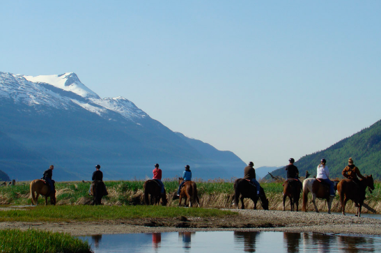 Horseback Riding - Skagway, Alaska