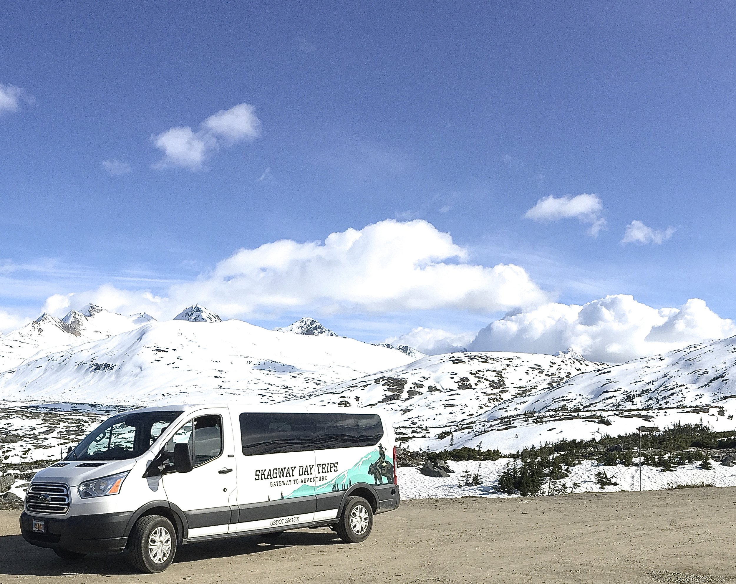 White Pass Summit Van Tour - Skagway, Alaska