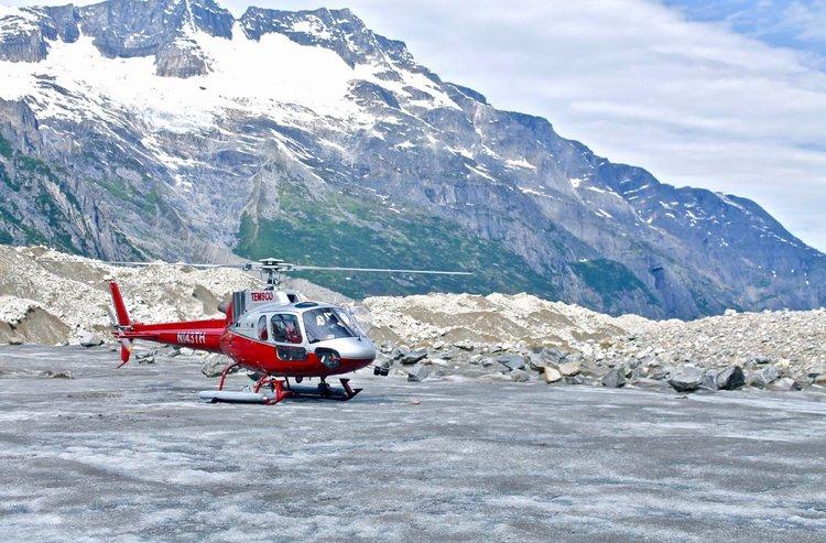 Helicopter Tours, Skagway, Alaska