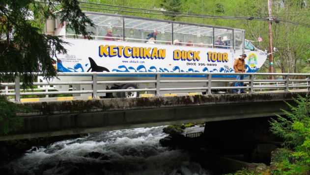 Duck Boat Tours - Ketchikan, Alaska